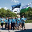 Meresinistes särkides Saaremaa Saarte mängude koondis alustas eile Kuressaarest pea 16 tundi kestvat reisi Ahvenamaale. Kaasa võeti hulgaliselt häid soove ja lootus naasta mitmete medalitega.