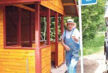Silla küla sai juubelilaulupeoks uue bussiootepaviljoni