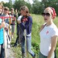 Laupäeval kohtus Pidula mõisas seal tööd tegev Eesti õpilasmaleva Tallinna rühm külla sõitnud RMK rühmaga Tornimäelt.