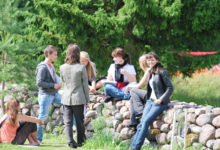 Euroopa noored leedulased kaesid tulevikku Saaremaal
