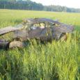 Upa–Leisi tee 16. kilomeetril sõitis eile varahommikul teelt välja ja paiskus üle katuse sõiduauto Volvo, mille juht oli joobes. Üks kaasreisijaist paiskus autost välja ja vajas haiglaravi.