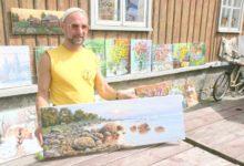 Aleksei Jastrebov, üle 18 aasta taas oma kunstiga Saaremaal
