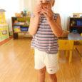 Kuressaare linna 5. lasteaia remont on alanud ning lapsed-õpetajad ja kokatädidki kolinud aastaks ajutistele pindadele haiglas ja endise migratsiooniameti ruumidesse maapanga taga. Eile astus Oma Saar sisse haiglasse, et vaadata, kuidas uues paigas läheb.