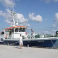 Eile pärastlõunal kell viis alustas Saaremaa Laevakompanii reisilaev Aegna Roomassaare sadamast kapten Kalle Tamme juhtimisel kümne reisija, toidu- ja ehituskaubaga esimest graafikukohast reisi Ruhnu.