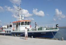 Aegna sõitis Roomassaare sadamast kümne reisijaga Ruhnu