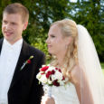 Sirle (Kolk) ja Urmas Oja Kuressaarest olid üks paar neist 7-st, kes otsustasid abielluda eilsel huvitaval kuupäeval 07.08.09.