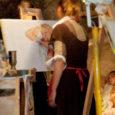 Neljapäeva öösel maalis kümmekond Kuressaare ametikooli endist ja praegust dekoorikursuse õpilast juhendaja Maila Juns-Veldre eestvedamisel esmakordselt ööd ja maaliti ka akti.