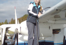 Ruhnu lennuliinil ajutiselt naispiloot