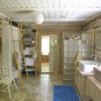 """Muhus Simisti külas asuva Namaste talu vannituba võitis konkursil """"Kodu kauniks 2009"""" parima vannitoa tiitli ja pälvis Gustavsbergilt 20 000-kroonise auhinna."""