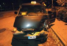 Naisjuht põrutas taksole sisse