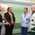 Eile avati Kuressaare haigla vastvalminud intensiivravi- ja dialüüsiruumid ning tähistati ühtlasi kirurgiakliiniku uuendustööde lõpulejõudmist.