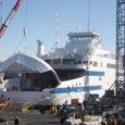 Pärast seitsmepäevast merereisi jõudis Saaremaa Laevakompanii uus reisiparvlaev eelmisel nädalal Klaipedast Norrasse BLRT-Fiskerstrand laevaehitustehasesse, kus tehakse laeva elektritööd ning paigaldatakse seadmestik ja sisustus.