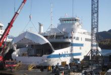 SLK uus reisiparvlaev saab viimase lihvi Norras