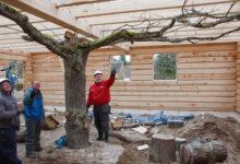 Kiligunde ehitab palkmaju Vilsandist Otepääni