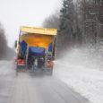 Kõikjal Saaremaal sadas eile maha esimene lumi, mõnel pool rohkem, teises kohas vähem.