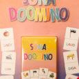 """Eelmisel nädalal ilmus kirjastuselt Ilo """"Sõnadoomino"""", mille autorid on Kuressaare 1. lasteaia õpetajad Kristina Kalf ja Külli Poom ning mis on mõeldud 5–7-aastastele lastele, kes lugema õpivad."""