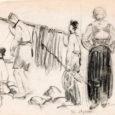 """Nagu igal tähtajalisel sündmusel, nõnda sai aeg otsa ka kunstiklassika näitusel """"Ruhnu kunstis"""". Väljapanek koosnes 48 kunstiteosest, millele lisaks saime näidata mõningaid Peeter Rooslaiu hõbesõlgi ja Ruhnu traditsioonilisi naiste tanusid. Parema tulemuse nimel tegime koostööd viie muuseumi ja 13 eraisikuga ning näitusel olid väljas kokku 20 autori tööd."""