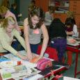Teisipäeval Lümanda põhikoolis toimunud Saare maakonna koolinoorte kunstipäev Kunstivikker üllatas osavõtjate rohkusega.