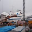 """Saaremaa Laevakompanii palus veeteede ametil kooskõlastada esimese uue Väinamerel kurseerima hakkava reisiparvlaeva nimi """"Muhumaa"""", teise laeva nimi """"Saaremaa"""" ja kolmandal """"Hiiumaa""""."""