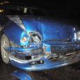 Pühapäeva õhtul kihutas purjus ja juhilubadeta Ott Salme alevis teisele autole tagant sisse nii, et kannatanu auto läheb mahakandmisele. Inimesed õnnetuses viga ei saanud.