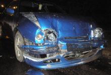 Purjus noormees kihutas teisele autole sisse