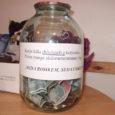 Karja pagariäris on juba teist aastat üleval korjanduspurk, et kõik annetajad saaksid anda omapoolse panuse aastavahetuse ilutulestiku õnnestumisse. Raha hakati korjama oktoobri algusest.