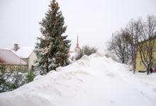 Talvepealinn Kuressaare