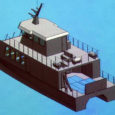 Ruhnu saare elanike arvates on kõige parem laev nende saarega ühenduse pidamiseks katamaraani tüüpi alus.