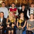 Üleeile andsid Saare maavalitsus ja Saaremaa spordiliit restoranis Ritter üle auhinnad aasta jooksul silma paistnud spordiinimestele.