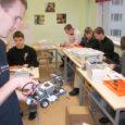 Sel nädalal jõudsid Kuressaare ametikooli Tiigrihüppe sihtasutuse toel soetatud Lego robotid, mida arvuti-erialade õpilased hakkavad kasutama programmeerimise õppimisel.
