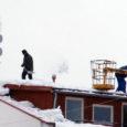 Sel talvel on meie katused kaetud paksu lumega. Katustelt lume allarookimisel unustatakse sageli ära tööohutusnõuded. Seega on tööinspektsioon pidanud mitmel korral sekkuma, töö peatama ja ohutusnõudeid selgitama.