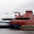 """Saaremaa Laevakompanii on saanud juba pakkumise äsja Norra laevatehases valminud parvlaeva """"Muhumaa"""" ostmiseks."""