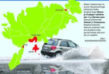 Üleujutus ähvardab enim Nasvast Kudjapeni