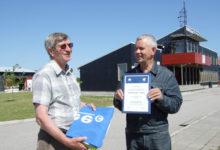 Seilajad Saksamaalt nimetasid Oskar Jõgi Baltimaade parimaks sadamakapteniks