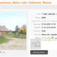 2008. aastal läks Muhus Vahtraste külas asuv mereäärne elamukompleks müüki hinnaga 13 900 000 krooni. Eksklusiivne kinnistu osteti viimaks ära selle aasta märtsis. Täpne müügihind pole teada, kuid portaalides reklaamitud hind oli sel hetkel 7 miljonit krooni.
