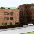 Kinnisvaraarendaja Compakt Kinnisvara rajab  Nõmme keskusesse kaks kohalikku miljöösse sobivat korterelamut.