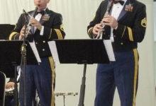 USA sõjaväelased andsid vägeva kontserdi