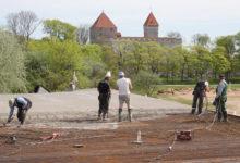 Uue rannahoone katuseks valati 750 tonni betooni