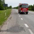 Eile kell 11.43 sai häirekeskus teate, et kilomeetri kaugusel Kuressaare linnast Kuivastu poole on sõiduteel reostus.