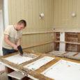 Eile algasid Saaremaa invaühingu majas riigikogulase Kalle Laaneti algatusel korrastustööd.