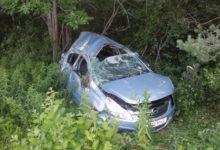 Ilplas põrutas auto kraavi