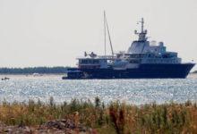 Vene miljardäri jaht Le Grand Bleu peatus Harilaiul