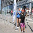 Eile tähistati piduliku lipuheiskamisega Kuressaare spordikeskuse viiendat sünnipäeva. Just selle tähtpäeva puhul sai asutus endale lipu, mille esimest korda heiskasid Linda Treiel ja Robin Mäetalu.