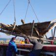 Eile alustas 16. sajandist pärit Maasilinna laev, mis 23 aastat Orissaares Illiku laiul ajutises varjualuses seisnud, teekonda Tallinna meremuuseumi.