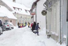 Lumi vallutas linna