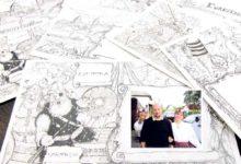 Prantslane joonistas Saaremaale ümbrikud
