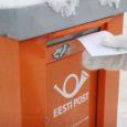 Otse Kuressaare kesklinnas lõhuti uusaastaööl Eesti Posti suur oranž kirjakast ja varastati selles olnud kirjad.