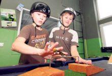 Noored meisterdasid näpurulapargi