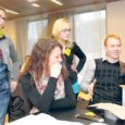 """Saaremaa ühisgümnaasiumis ja Arensburg hotelli konverentsisaalis toimusid eile ettevõtluskonkursi """"Saaremaa päike"""" raames IDE – insener, disainer, ettevõtja – töötoad Kuressaare koolinoortele, kus neile anti ülesandeks töötada välja innovaatiline jalgrattatarvik ja meisterdada selle prototüüp."""