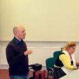 5. veebruaril oli Kuressaare ametikooli kogunenud üle 30 filmihuvilise, kellele jagasid õpetusi stsenaariumikirjutamise kunstist vastava ala spetsialist Aina Järvine ja saare juurtega filmiguru Ilmar Raag.